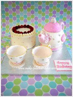 Gum Paste Teacup Tutorial