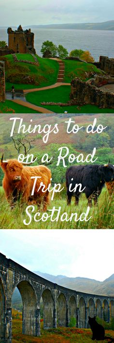 Looking for a road trip destination? Look no further than Scotland. Here is your perfect itinerary for a two-day road trip that starts in Inverness to Glencoe back to Edinburgh via Luss and Stirling. The trip can easily be extended to add a day in Inverness, a day hiking in Glencoe or even a day trip to the Isle of Skye. #Scotland #RoadTrip
