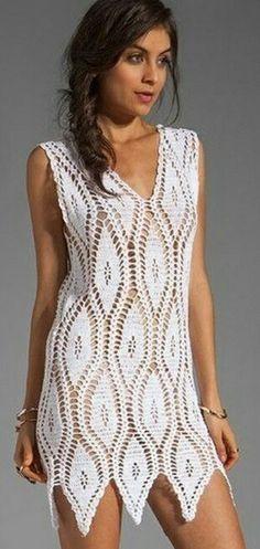 Joli modèle de robe pour l'été!