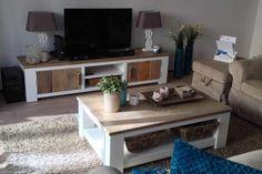 Steigerhout TV-meubel Freya - Steigerhout Furniture   Unieke steigerhouten meubelen & tuinmeubelen op maat gemaakt!