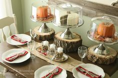 Holiday Tablescapes {Thanksgiving &Christmas} | Not JUST A Housewife