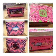 Painted cooler! :) Patagonia, Southern Tide, Lily Pulitzer, Monogram, Southern Proper, Vineyard Vines, and Fraternity Collection.