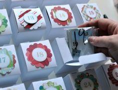 DIY Lego Advent Calendar