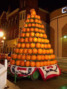 Circleville, Ohio Pumpkin Show October 16-19, 2013