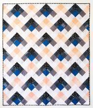 Seeing Double Quilt Pattern - PDF - Beginner Quilt, Modern Quilt