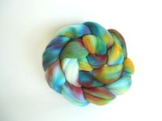 Hand dyed Superfine Merino 19 micron combed top / by looliemom, $18.00
