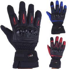 Winter Men Moto Motorcycle Gloves  Motocross Racing Waterproof Windproof Warm Leather Cycling Bicycle Cold Guantes Luvas Protect -- Haga clic en la VISITA botón para averiguar más