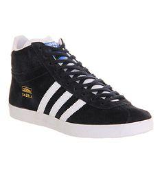 premium selection 7eb06 3a939 Adidas Gazelle Og Mid Legend Ink White - Unisex Sports. Hvide SkoKondisko