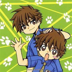 Syaoran and Syaoron from Shiritsu Horistuba Gakuen Syaoran, Cardcaptor Sakura, Manga Anime, Anime City, Xxxholic, Clear Card, Anime Dolls, Best Waifu, Anime Artwork
