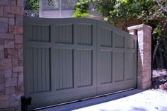 Project Gates Gates Design and Manufacture of Metal Doors Wood . Fence Gate Design, Front Gate Design, House Gate Design, Door Design, Exterior Design, Double Wooden Gates, Wooden Garden Gate, Garden Gates And Fencing, Fences