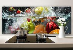 Kitchen splashback refreshing fruit