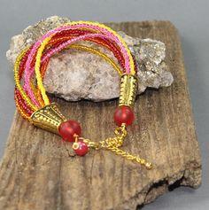 """Armbänder - Armband """"Indien"""" - ein Designerstück von perlenchris bei DaWanda"""