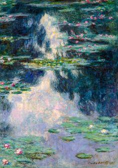 Renoir 1869 Fade Resistant HD Art Print or Canvas La Grenouillere