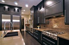 https://www.facebook.com/leovandesign   Kitchen Design Ideas  #kitchenworkstations #kitchenworktriangle #kitchen