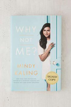Why Not Me? Signed Copy By Mindy Kaling