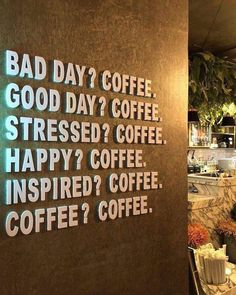 coffee quotes Sounds like a plan Coffee Time! Good Day Coffee, Happy Coffee, Coffee Is Life, I Love Coffee, Coffee Art, Coffee Poster, Coffee And Books, My Coffee Shop, Cofee Shop