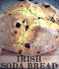 Irish Soda Bread -- just in time for St. Patrick's Day!
