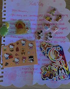 Pen Pal Letters, Love Letters, Homemade Phone Cases, Cute Easy Drawings, Kawaii Stationery, Indie Kids, Pusheen, Sanrio, Aliens