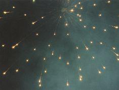 Fireworks - looks like stars