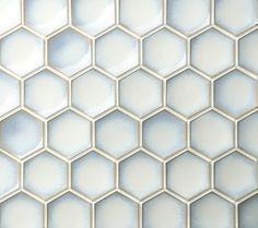 Academy Tiles - Ceramic and Porcelain Mosaics - Hexcurve Glazed 52 x 60mm - 84842