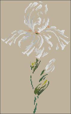 """Сачать схему вышивки """"Iris""""  Формат схемы: .xsd  Размер: 96x157  Производитель: DMC  Артикул: XC1131b  Серия:   Количество цветов в : 12"""