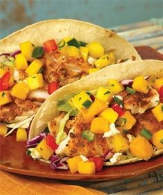 Easy fish tacos on pinterest fish taco recipes grilled for Simple fish taco recipe