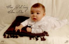 Carter's christening picture