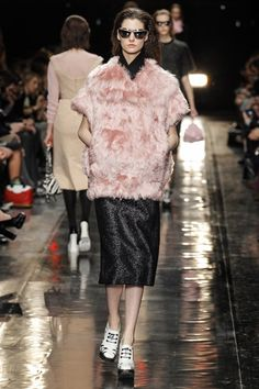 Carven's AW13 collection at Paris Fashion Week #NowTrending #LuxeTextures