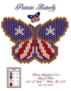 sova enterprises bead patterns | Photo: Bead-Patterns.com Newsletter July 1, 2013Featured Free ...