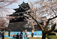 Matsue Castle in Shimane prefecture, Japan.