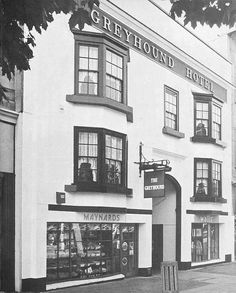 The Greyhound Hotel, Broadmead, Bristol | by brizzle born and bred