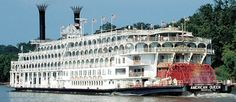 #AmericanQueen Steamboat.  This is a must!