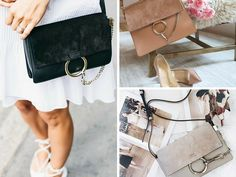 The one fashion accessory that almost every fashion influencer has it the Chloe Faye bag.  It could be the shoulder bag or clutch, but every fashionista has one.  Here are some of the bags that trended majorly on Instagram and Pinterest:
