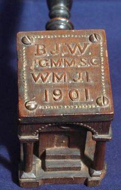 1901_Masonic_Folk_Art_Gavel