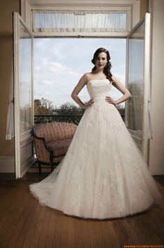 Schlicht Brautkleider 2014