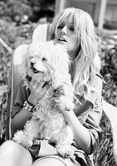 "News - Tom Munro Photographs ""American Dream"" with Toni Garrn for Vogue Spain, June 2012 Designer Dog Carriers, Designer Dog Collars, Designer Dog Clothes, Toni Garrn, Vogue Spain, Dog Boutique, Lady And The Tramp, Interesting Faces, Vintage Photographs"