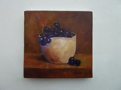 Grape Wall Decorations | Tea Bowl with Grapes art decor wall decor