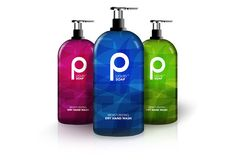 A soap packaging with nice modern logo and great contemporary graphic design.