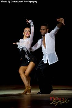 Emmanuel Pierre-Antoine and Liana Churilova performing a Cha Cha to Black or White by Michael Jackson    (Ballroom Dance & DanceSport)