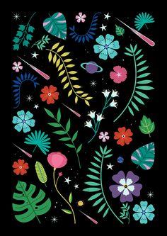 Carly Watts Illustration: Verdant #pattern #design #illustration #botanical #floral
