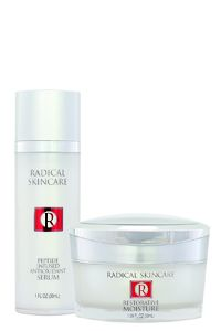 Radical Skincare - especially the peptide infused serum and the exfoliating pads.  Potent products without feeling harsh.