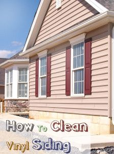 Good Ideas For Cleaning Vinyl Siding