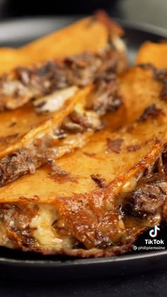 Meat Recipes, Mexican Food Recipes, Latin Food, Spanish Food, Beef Dishes, Diy Food, Street Food, Carne, Entrees