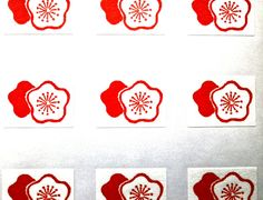 Japanese Stickers Plum Blossoms Flowers Washi by FromJapanWithLove, $5.50