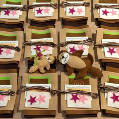 In the studio packing up Otterly Adorable kits. Get into the swim and dip your toes into hand stitching.