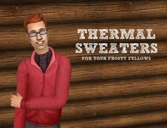 Mod The Sims - Thermal Sweaters - for your frosty fellows