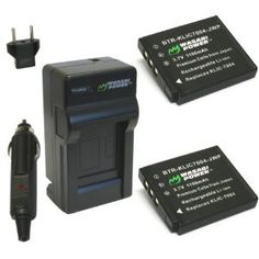 Wasabi Power Battery and Charger Kit for Fujifilm NP-50, BC-50 and Fuji FinePix F50FD, F60FD, F70EXR, F75EXR, F80EXR, F85EXR, F100FD, F200EXR, F300EXR, F305EXR, F500EXR, F505EXR, F550EXR, F600EXR, F605EXR, F660EXR, F665EXR, F750EXR, F770EXR, F775EXR, F800EXR, REAL 3D W3, X10, XF1, XP100, XP110, XP150, XP160, XP170 by Wasabi Power. $21.99. The Wasabi Power battery and charger kit includes 2 batteries and one charger with a European plug and car adapter. All items m...