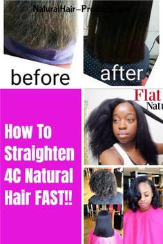 Pressed Natural Hair, Natural Straight Hair, Natural Hairstyles For Kids, Natural Hair Styles For Black Women, Natural Hair Tips, Black Women Hairstyles, Cute Hairstyles, Straight Hairstyles, Silk Press