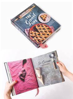 """the good life"" book design"