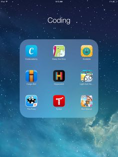 TOUCH this image: Hour of Code Resources by Ms_3F